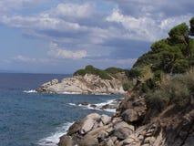 Landscape of Elba Island Tuscany Italy Stock Photos