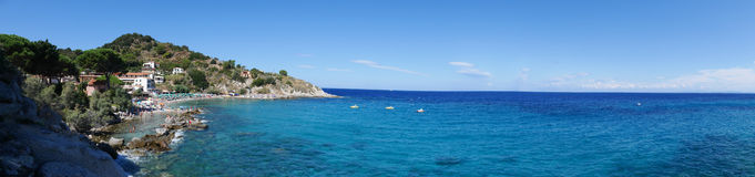 Landscape of Elba Island Tuscany Italy Stock Image