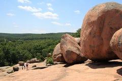 Landscape at Elephant rocks State park, Stock Images