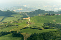 Landscape in Emilia Romagna Stock Photos