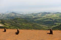 Landscape in Emilia Romagna (Italy) Stock Photos