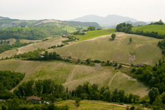 Landscape in Emilia-Romagna (Italy) Stock Photography