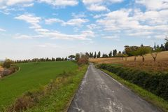 Landscape in Emilia-Romagna (Italy) Stock Photos