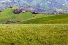 Landscape in Emilia-Romagna (Italy) Royalty Free Stock Photography