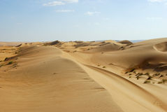 Landscape of Empty Quarter, Rub al Khali Desert Stock Image