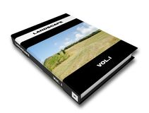 Landscape encyclopedia. First volume of a virtual landscape encyclopedia Royalty Free Stock Images