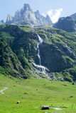 Landscape at Engelberg Stock Photography