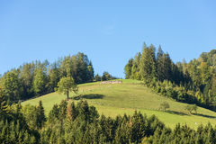 Landscape Ennstal in Upper Austria Royalty Free Stock Photo