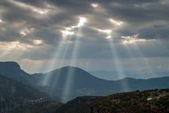 Landscape in Epirus, Greece Stock Photo
