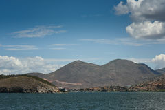 Landscape of Erhai Lake Stock Photo