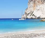 Landscape of Erimitis beach Paxos island Greece Stock Photo