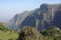 Landscape in Ethiopia Royalty Free Stock Image