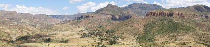 Landscape, Ethiopia, Africa. Landscape in Tigray province, Ethiopia, Africa Stock Photos