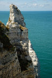 landscape of etretat of france Royalty Free Stock Photos