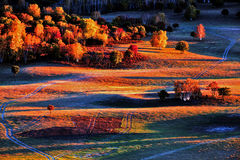 Landscape. Famous for its scenic beauty in the fall Royalty Free Stock Photos