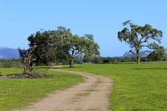 Landscape farmland Lompoc California Stock Image