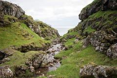 Landscape on the Faroe Islands Royalty Free Stock Photos