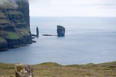 Landscape on the Faroe Islands Stock Photo