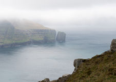 Landscape on the Faroe Islands Royalty Free Stock Photography