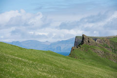 Landscape on the Faroe Islands Stock Photography