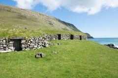Landscape on the Faroe Islands Royalty Free Stock Photography