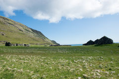 Landscape on the Faroe Islands Stock Images