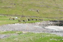 Landscape on the Faroe Islands Royalty Free Stock Image