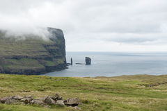 Landscape on the Faroe Islands Stock Photos