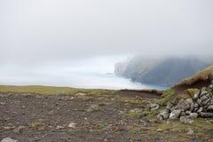 Landscape on the Faroe Islands Royalty Free Stock Photo
