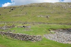 Landscape on the Faroe Islands Stock Photos