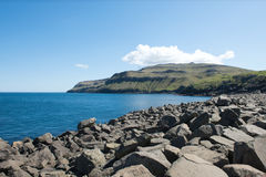 Landscape on the Faroe Islands Stock Images