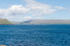 Landscape on the Faroe Islands Royalty Free Stock Photos