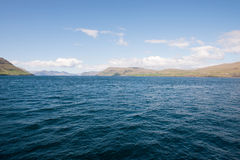 Landscape on the Faroe Islands Royalty Free Stock Image