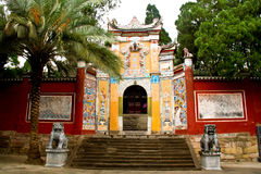 Landscape of fengjie baidi city Stock Photography
