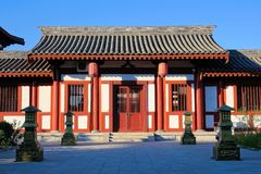 Fenyang Monarch Palace. The landscape of Fenyang Monarch Palace in Fenyang, Shanxi, China royalty free stock photography