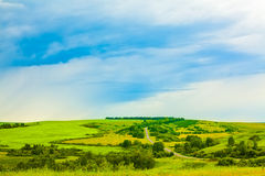 Landscape with the field Royalty Free Stock Photography