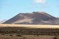 Landscape of fields and mountains near Antigua village, Fuerteventura, Stock Photos