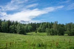 Landscape in Finland Stock Images