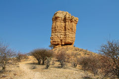 Landscape in Finger rock area Royalty Free Stock Photo