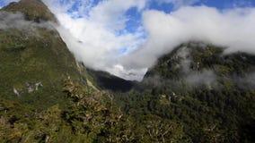 Landscape of Fiordland, New Zealand