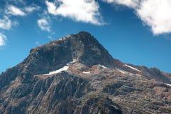 Landscape with Fisht mountain Stock Photo