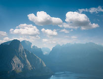 Landscape of fjord Stock Photography