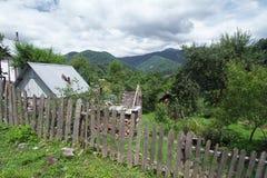 The landscape of the foothills of the Caucasus Sochi coast of Krasnodar region Royalty Free Stock Photos
