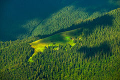 Landscape forest mountains Royalty Free Stock Photography