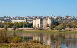 Landscape of the fortress Royalty Free Stock Image