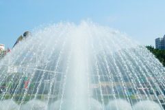 Landscape fountain Royalty Free Stock Image