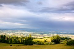 Landscape of France Stock Photography