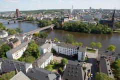 Landscape of Frankfurt Royalty Free Stock Photos