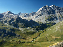 Landscape from French Alps, Vanoise. View from part of French Alps - Vanoise Stock Photos
