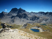 Landscape from French Alps, Vanoise. View from part of French Alps - Vanoise Stock Images